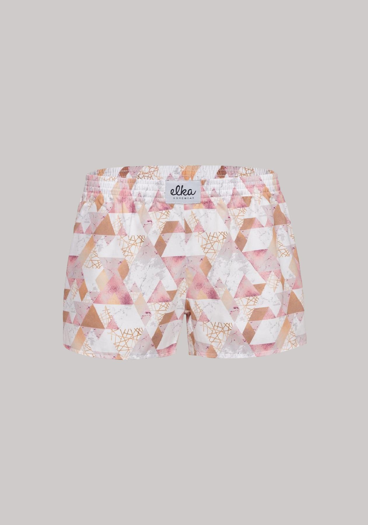 Triangle ružové dámske